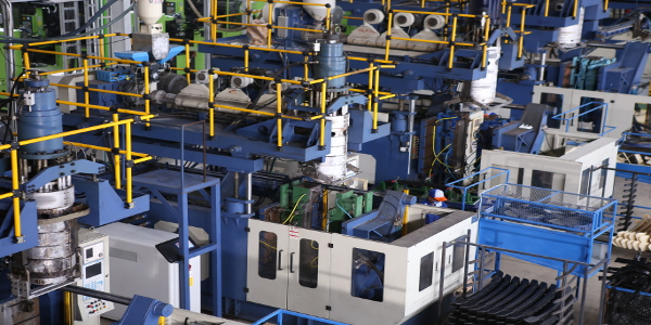 ISO certified extrusion blow molding process manufacturing in Indonesia, Southeast Asia