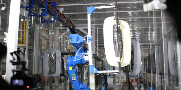 ISO certified plastic paint line process manufacturing in Indonesia, Southeast Asia